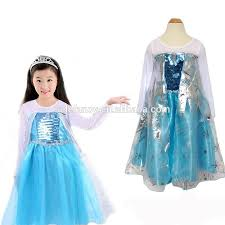 frozen dress for halloween fashion factory direct sale gambar frozen elsa dress