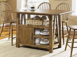 rustic dining room design with mahogany wood kitchen tables