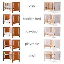 Convertible Crib Toddler Bed Baby Crib Converts To Bed The Soren Quattro Is A And Dresser