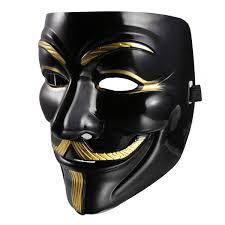 Anonymous Halloween Costume Halloween Masquerade Costume Cosplay Vendetta Anonymous Mask