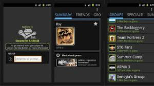 steam to android unofficial steam client for android offers everything but gameplay