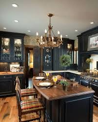 Distressed Black Kitchen Cabinets by Dark Distressed Kitchen Cabinets Tag Distressed Black Kitchen