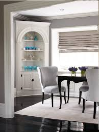 Dining Room Built In Built In Corner China Cabinet Is So Pretty Jenn Pinterest