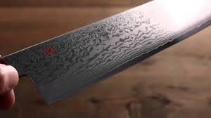 Damascus Steel Kitchen Knives Iseya Vg10 33 Layer Damascus Gyuto Japanese Chef Knife 210mm Youtube