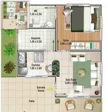 Extreme 3 tipos de plantas de casas até 50 m2 &TQ43