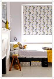 Patterned Roman Blinds 17 Gallery Of Grey And White Vertical Blinds Best Living Room