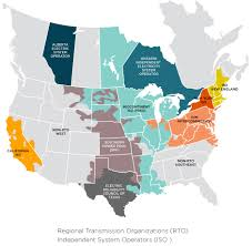 iso map iso rto operating regions sustainable ferc project