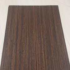 Wenge Laminate Flooring Waterproof Reconstituted Veneer Wenge Wood Veneer For Door Frame