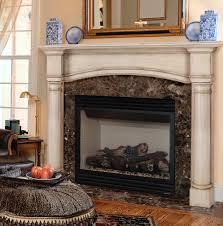 wood fireplace mantel binhminh decoration
