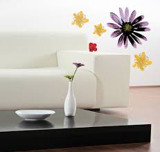 floral wall decals bring spring color into your home painted flowers wall decal