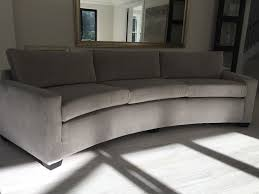 Curve Sofas Bespoke 330 Cm Curve Sofa This One Is On Black Block Square