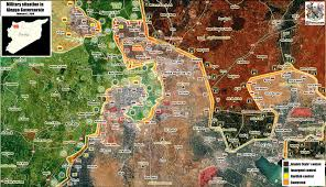 map all the battle for aleppo the of all battles