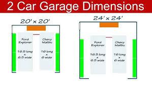 4 car garage size normal garage size average doorway height door widths free coloring