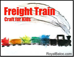 freight train art activity donald crews u2013virtual book club kids