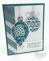 elaine s creations embellished ornaments card