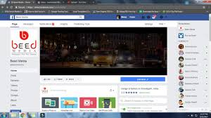 Facebook Page Cover Template by New Update 2017 Facebook Video Cover How To Set Video Cover In