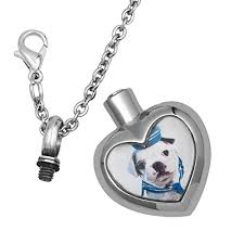 urn necklace for ashes heart urn necklace photo pet dog memorial necklace for ashes