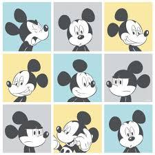 new official disney mickey mouse pop art pattern cartoon childrens