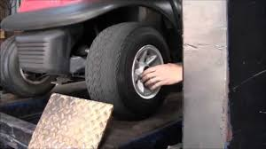 how to change a golf cart tire video by best buy golf carts in