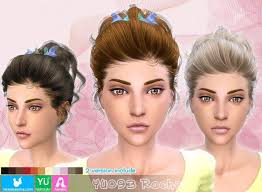 the sims 4 cc hair ponytail 344 best sims 4 cc images on pinterest sims cc sims mods and sims