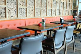design ideas for banquette table also remarkable restaurant