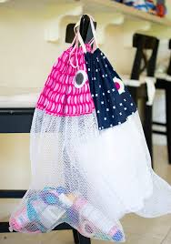 cute laundry bags diy fish beach bags or laundry bags free pattern sewcanshe