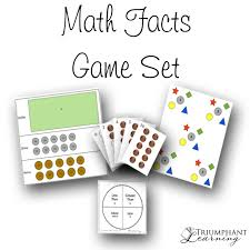 math facts math facts set triumphant learning
