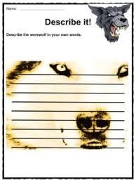 werewolves facts worksheets information u0026 myths for kids