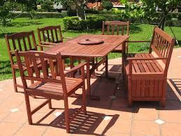 Patio Table And Chair Set Patio Patio Table And Chairs Set Dark Brown Rectangle Modern