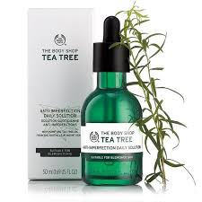 tea tree anti imperfection daily solution the shop