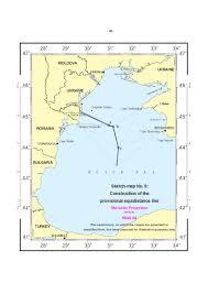 Romania Blank Map by Maritime Delimitation In The Black Sea Rom V Ukr 2009 I C J