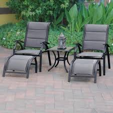 reclining patio chair with ottoman reclining patio chairs with ottoman galante recliner amp ottoman