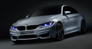 m4 coupe bmw bmw gives the m4 coupe a cool set of laser and oled lights at ces 2015
