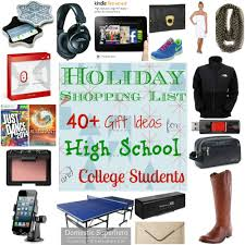 gift shopping list shopping list 40 gift ideas for high school and college