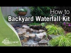 Aquascape Pondless Waterfall Kit How To Build A Pondless Waterfall Aquascape Youtube