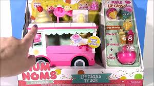 glitter truck diy num noms lip gloss truck make your own glosses with sprinkle