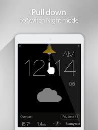 red clock the minimal alarm clock on the app store