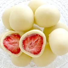 White Chocolate Covered Strawberries Delivery Hokkaido Omiyage Tankentai Rakuten Global Market Rokkatei