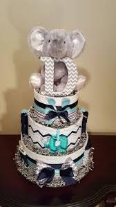 little man boy diaper cake spa blue burlap 3 tier diaper cake