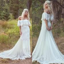 hippie wedding dresses discount lace vintage wedding dress 2017 lace