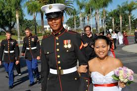 community cupid helps ten military couples tie the knot dameron