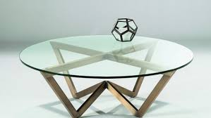 circular glass coffee table chelsom angle circular glass coffee table ccc14 morale home