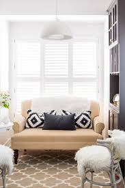 Pale Yellow Living Room by Chic Small Space Living Room With Elegant Pale Yellow Sofa With