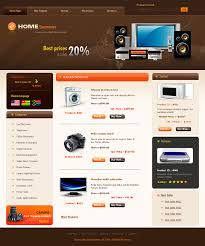 informational website templates simple css website templates for home electronics