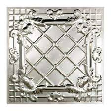 Metal Ceiling Tiles by Metal Ceiling Tiles Ceilings The Home Depot