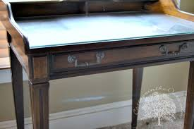 Antique Writing Table Diy Antique Writing Desk Redo Cottage In The Oaks