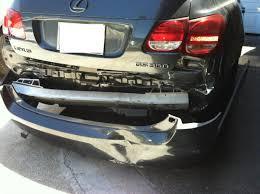 lexus is300 quarter panel car accident rear ended clublexus lexus forum discussion