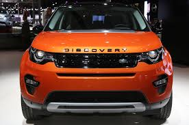 orange land rover discovery 2015 land rover discovery sport first drive motor trend