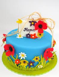 summer flower cake cakecentral com