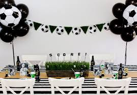 soccer party ideas soccer party tablescape evite
